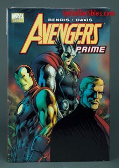 Avengers Prime Hardcover Marvel Premiere Edition New