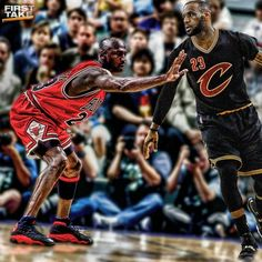 King James aiming for the crown 👑🐐but MJ's legacy is just too strong Michael Jordan Photos, King James, The Crown, Lebron James, Nba, Basketball, Strong, Netball