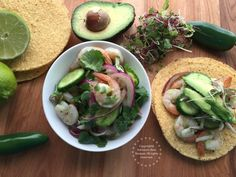 Shrimp aguachile is the cousin of the ceviche and a very popular appetizer served in the state of Sinaloa