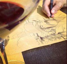 Sketchin in Verona. #stefanotamiazzo #tamiazzo #sketch #illustration