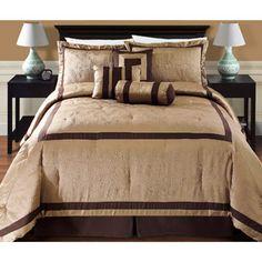 Victoria Classics Rhode Island Hotel 7-Piece Bedding Comforter Set