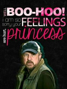When I find myself in times of trouble, Bobby Singer comes to me, speaking words of wisdom...