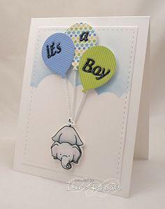 Splitcoaststampers FOOGallery - CAS366 New Baby Boy
