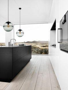 modern contemporary kitchens #home #style #kitcheninspiration