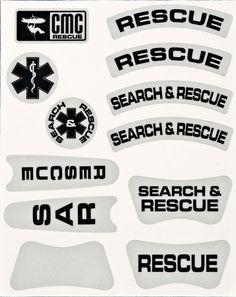 KASK Helmet Decal Set | CMC Rescue