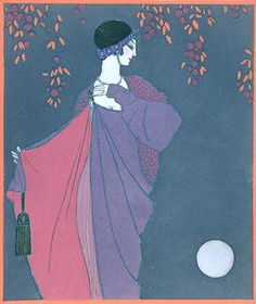 'Au clair de la lune', design by Paul Poiret, 1913