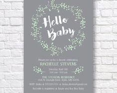 Náutica bebé ducha invitación invitar para imprimir por T3DesignsCo