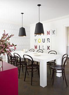 Fun Dining Room | Photo Gallery: Sally Armstrongs Family Home | House & Home | photo Virginia Macdonald