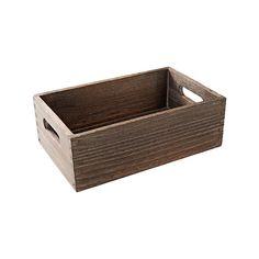 Holzbox, ca. 28x18x9 cm  Farbe: braun Maße: ca. 28x18x9cmMaterial: chinesischer BlauglockenbaumMit dieser Holzbox in der Farbe braun sind Ihrer Kreativität keine Grenzen gesetzt. Ob für ein schönes Kerzenarrangement, oder ganz einfach mit ein wenig Dekorationssand: Diese Box kann nach Lust und Laune dekoriert werden und wird somit zum wahren Schmuckstück in Ihrem zu Hause. Ein absolutes Muss!  6,99€