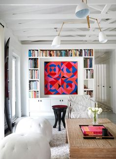 Home Living, Living Spaces, Living Rooms, Best Decor, Dyi, Up House, House Rooms, Ranch Style Homes, Home Libraries