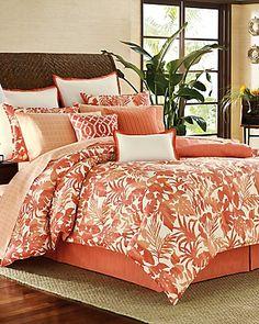 Tommy Bahama - Palma Sola 4-Piece California King Comforter Set