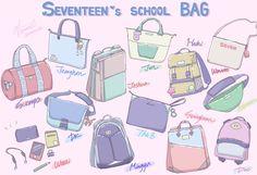 woozi brings no schoolbags lol Manga Drawing Tutorials, Drawing Tips, Drawing Reference, Seventeen Memes, Seventeen Woozi, Gyu, Tumblr Art, Cartoon Fan, Kpop Drawings