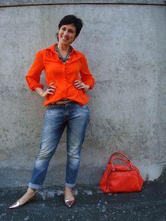 inspiração pra usar minha camisa laranja.