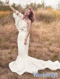 Secret Hyo Sung - InStyle Weddings Magazine July Issue '15