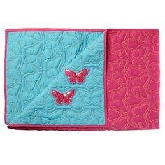 Aqua butterfly bedspread - Kids bedroom - Kids -
