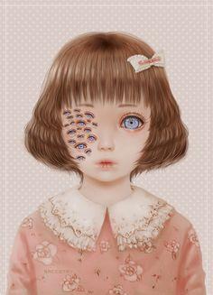 Cute & Creepy Art by Saccstry photo BubbleGothPrincess' photos ...