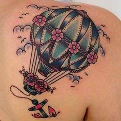 Balão colorido – Fotos de Tatuagens