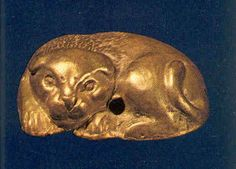 gold lion bead.jpg from Minoan necklace