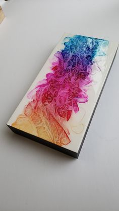 Alcohol Ink Art, Wood Canvas, Creative Art, Frames, Hand Painted, This Or That Questions, Abstract, Pictures, Summary
