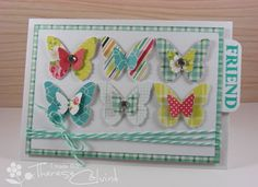 Butterfly Friend - Great for a gift card