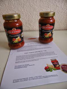 Frinis Test-Stübchen: BERTOLLI Pecorino Pasta Sauce und mehr .....