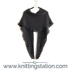 Knitting Station Garter Stitch, Shawls, Scarves, Knitting, Lace, Fashion, Scarfs, Moda, Tricot