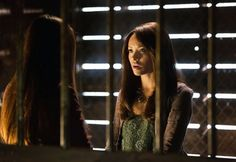 """Nina Dobrev as Elena and Kat Graham as Bonnie in """"Growing Pains,"""" the Season 4 premiere episode of """"The Vampire Diaries."""""""