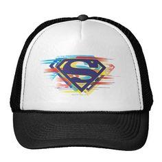 Superman S-Shield | Colorful Logo. Producto disponible en tienda Zazzle. Accesorios, moda. Product available in Zazzle store. Fashion Accessories. Regalos, Gifts. #gorra #hat #heroe #hero #american