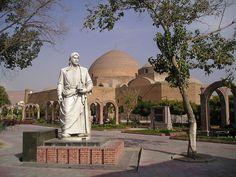 Khaqani Park (Back of the Blue Mosque), Tabriz, Iran, 2004