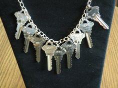 Keys necklace