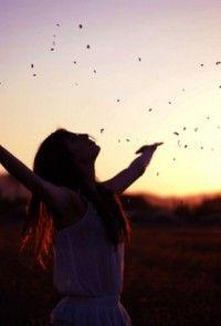 Felicità è: sentirsi liberi! Buon fine settimana!