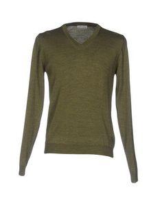 DANIELE ALESSANDRINI HOMME Men's Sweater Military green 42 suit