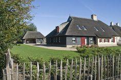 Oome De Man architecten » Nieuwbouw vrijstaand landhuis met garage