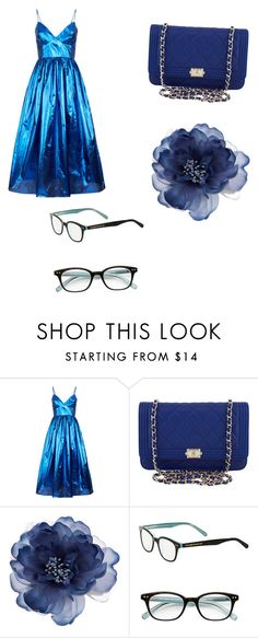 """""""Ravenclaw"""" by harrislayla ❤ liked on Polyvore featuring Malene Oddershede Bach, Chanel, Accessorize and Kate Spade"""