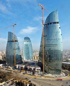 Baku Flame Towers. HOK.