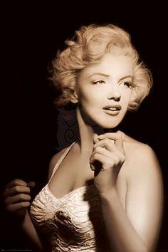 Marilyn Monroe (spotlight) - plakat 61x91,5 cm  Gdzie kupić? http://www.eplakaty.pl/produkt/Marilyn-Monroe---spotlight