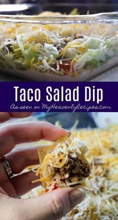 Surprise your friend Surprise your friends and family with this...  Surprise your friend Surprise your friends and family with this amazing appetizer recipe. Taco Salad Dip to save the day! Recipe : http://ift.tt/1hGiZgA And @ItsNutella  http://ift.tt/2v8iUYW