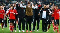 Meia final da Liga Europa - Juventus 0, Benfica 0. Festa Benfiquista pelo acesso à 10.ª final Europeia, 2.ª consecutiva.
