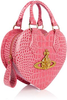 Vivienne Westwood Rosa Chancery Heart Bag in Pink - Precious!