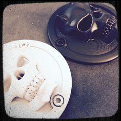 Devil Skull Air Filter Cap