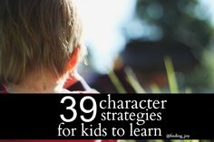 39 Character Strategies for Everyone to Learn! @Rachel