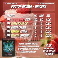 Doctor Grimes - Unicorn (сlone - 10 ml).