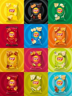 Brand New: New Logo and Packaging for Lay's