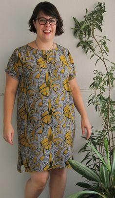 Cookin' & Craftin': Batik Inari Tee Dress