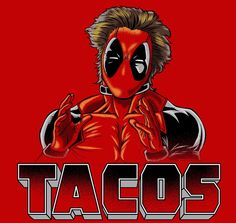 Tacos T-Shirt - Deadpool T-Shirt is $11 today at Ript!