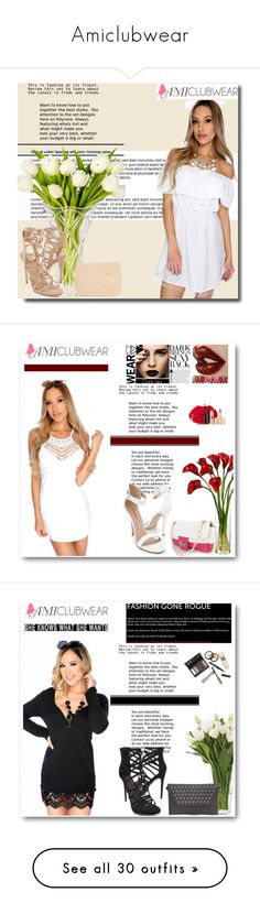 """""""Amiclubwear"""" by mary-turic ❤ liked on Polyvore"""