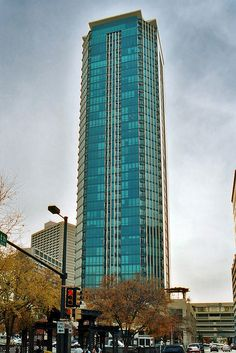 The Tower, Fort Worth - Heavily damaged in the 2000 tornado https://en.wikipedia.org/wiki/2000_Fort_Worth_tornado http://www.aawe.org/images/gallery/BankOneFortWorth(2000).jpg