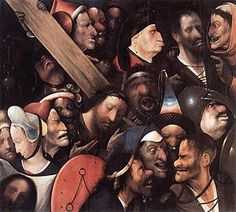 Christ Carrying the Cross is a painting by Hieronymus Bosch. It was painted in the early 16th century, presumably between 1515 and 1516. The work is housed in the Museum of Fine Arts in Ghent, Belgium.