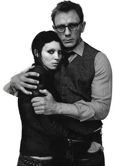 Rooney Mara & Daniel Craig in The Girl with the Dragon Tattoo (David Fincher, 2011)