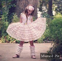 Mustard Pie Sweet Pink Noel Dress